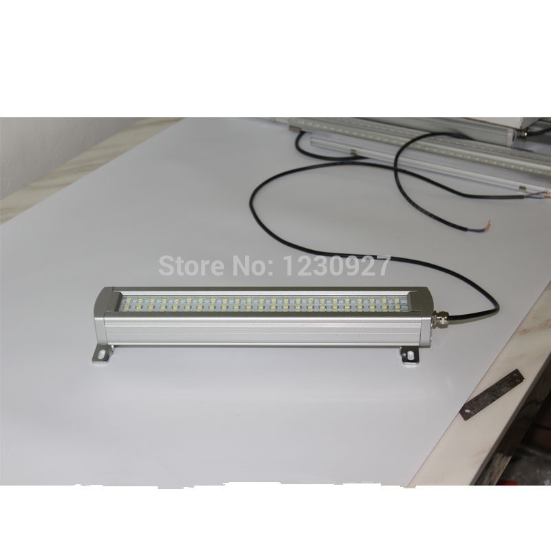 48.80$  Buy now - http://alifp0.worldwells.pw/go.php?t=32304006740 - Free ship new 340mm HNTD41-8W 24V LED metal Waterproof explosion-proof lamp led work light for CNC machine industiral lamp