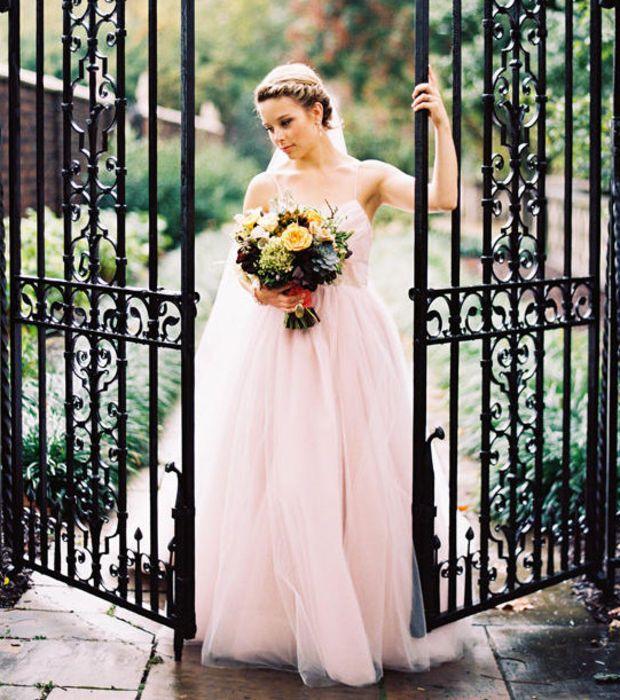 Mettre robe blanche mariage