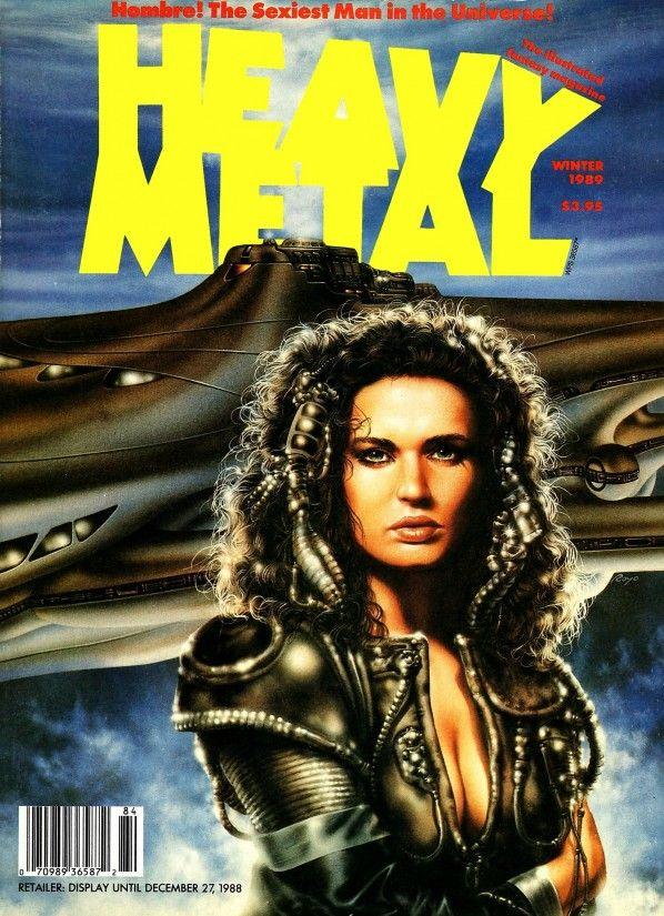 <b>Heavy</b> <b>Metal</b> <b>Magazine</b> <b>Covers</b> from The 1980s