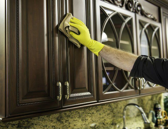 How To: Remove Grease From Kitchen Cabinets | Clean ...