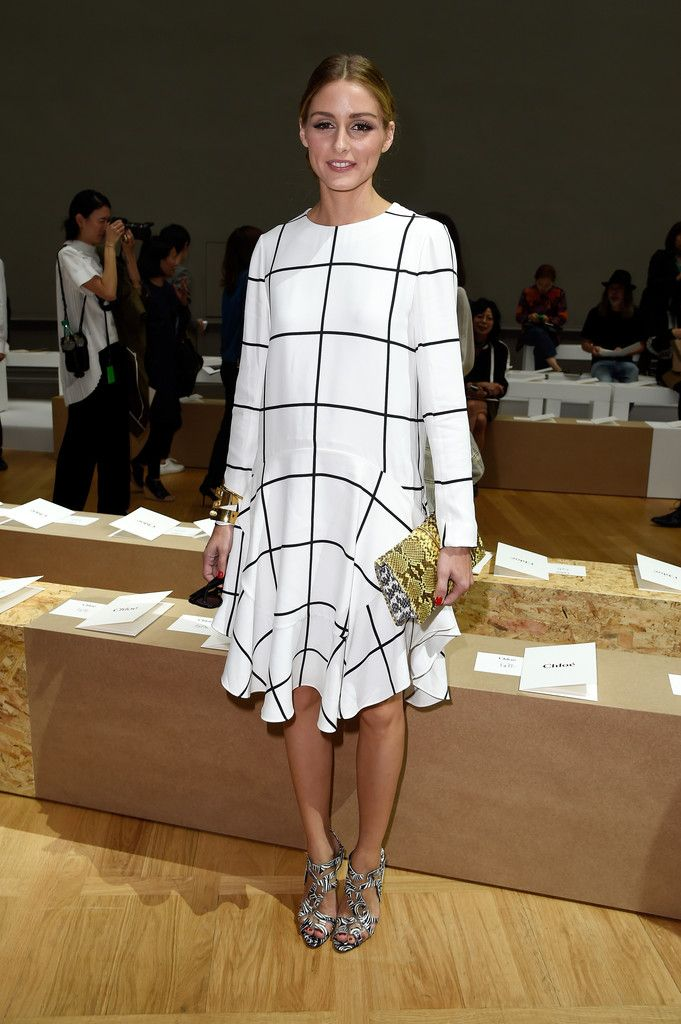 4c1e79213a311 Olivia Palermo attends the Chloe show as part of the Paris Fashion Week  Womenswear Spring Summer 2015 on September 28, 2014 in Paris, France.