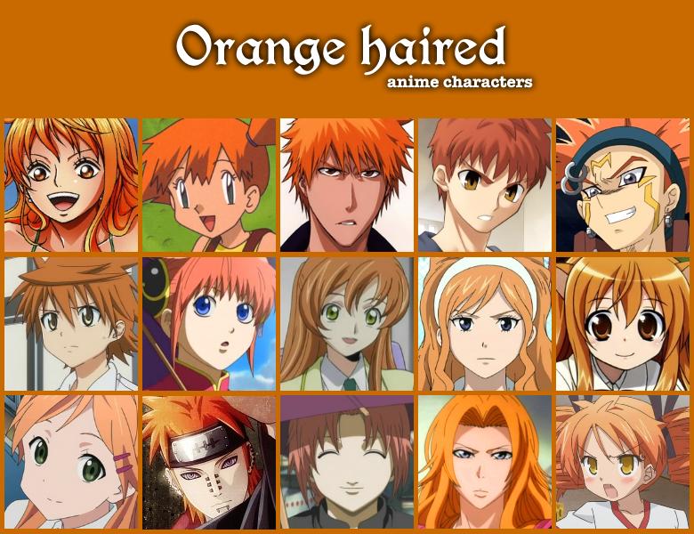 Orange Haired Anime By Jonatan7 On Deviantart Anime Anime Hair Anime Hair Color