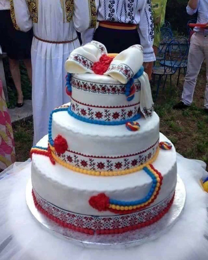 Tort Traditional Romanesc Va Place O Notă Costume Nationale