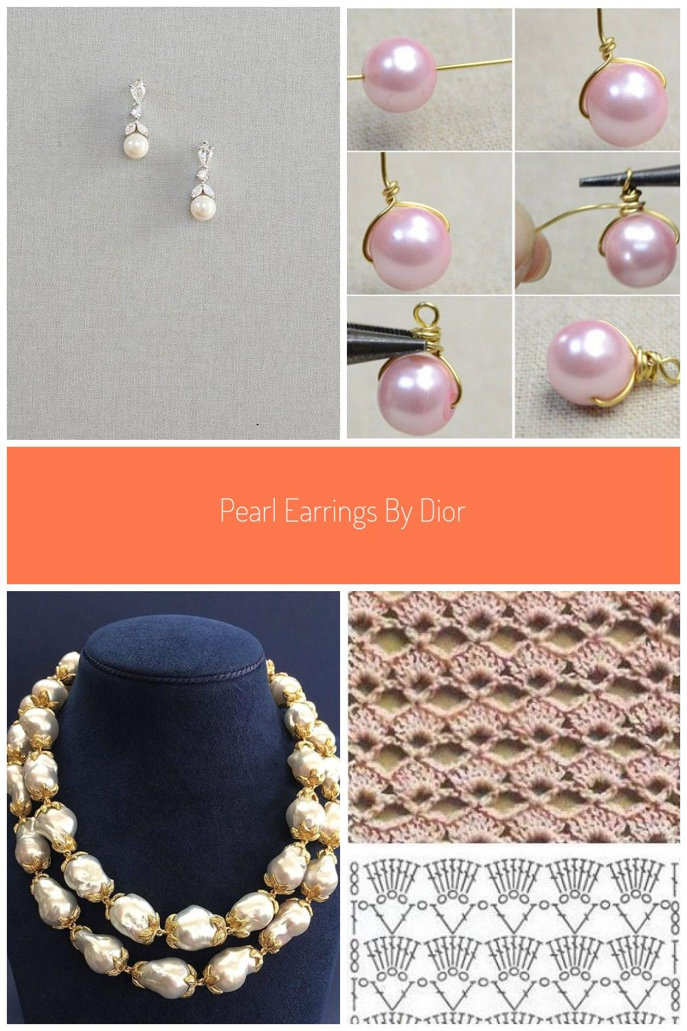 Pearl Earrings By Dior Jewelry Pearl Earrings By Dior