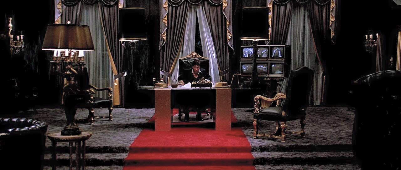 . Tony Montana s office in Scarface   TV   Movies in 2019   House