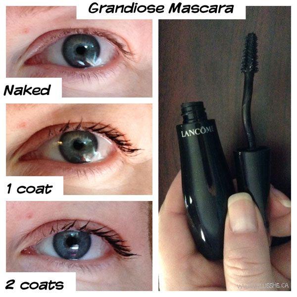 28d13af7f69 My review of Lancome Grandiose Mascara courtesy of InfluensterCA ...