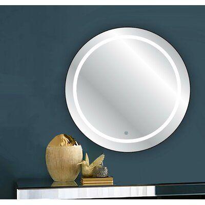 Leverett Wall Mirror Mirror Cool Mirrors Shower Mirror