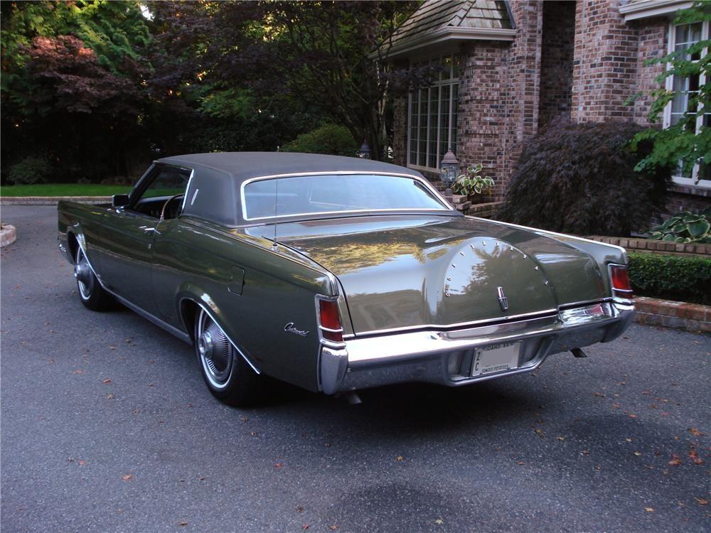 1969 Lincoln Mark Iii Jackson Lot 315 1969 Lincoln