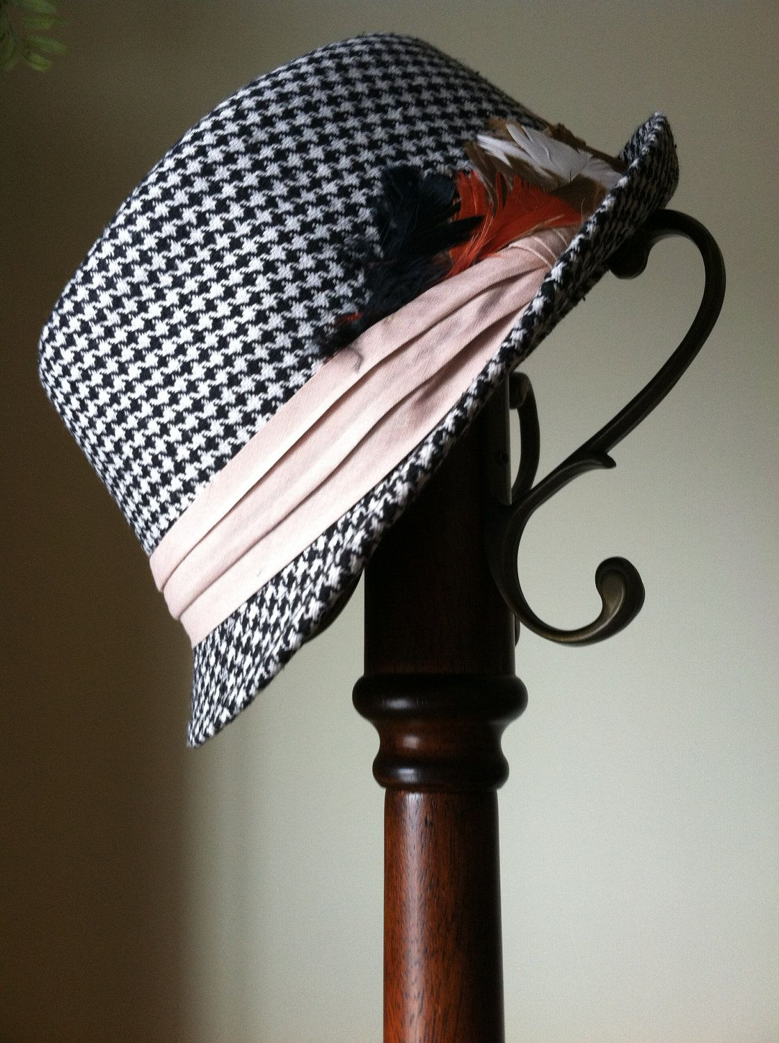 Mr and Mrs Belvedere's Houndstooth Fedora..