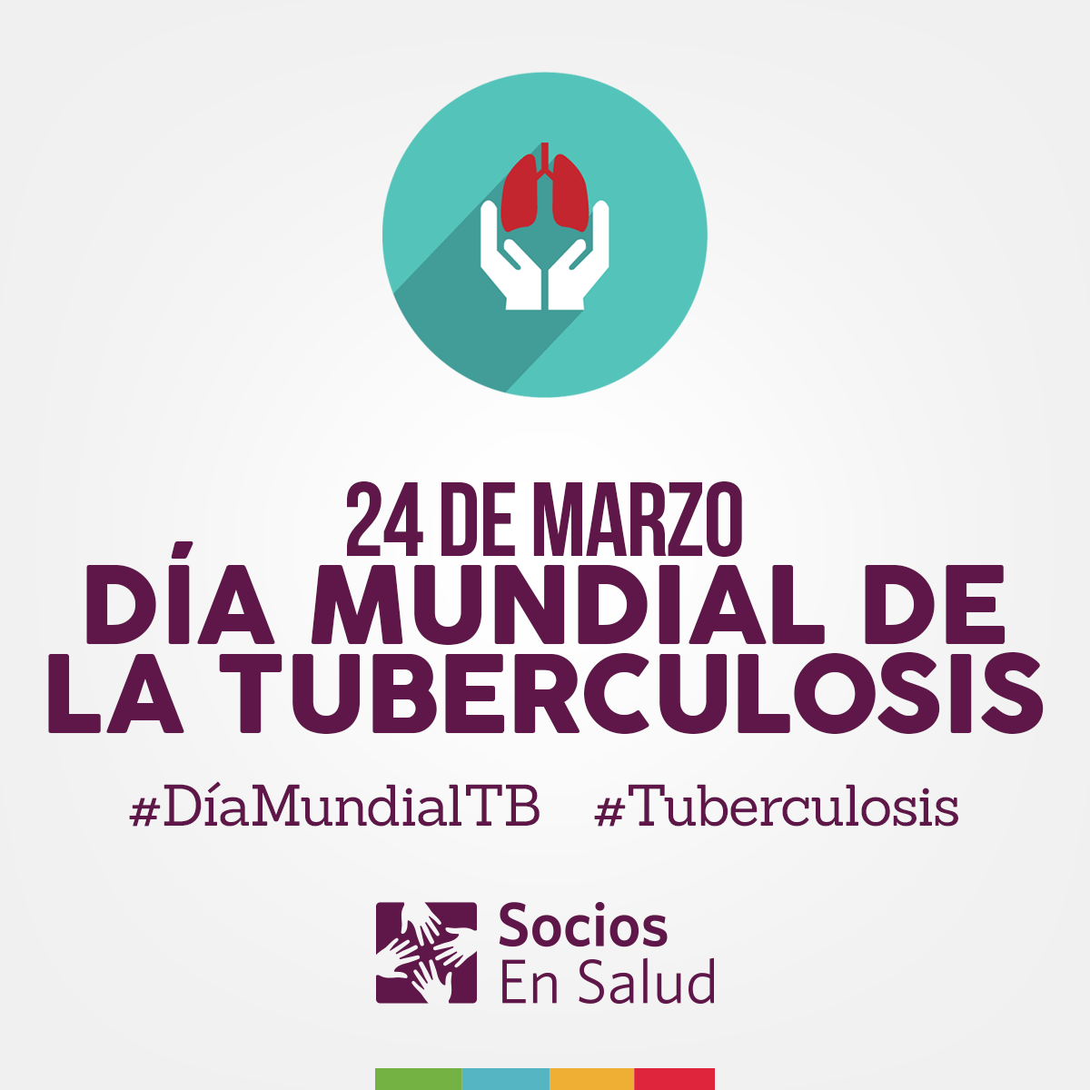 Día mundial de la #prevención de la #tuberculosis. #DíaMundialDeLaTB #PrevencionEsSalud #FinTB #SociosEnSalud #Perú