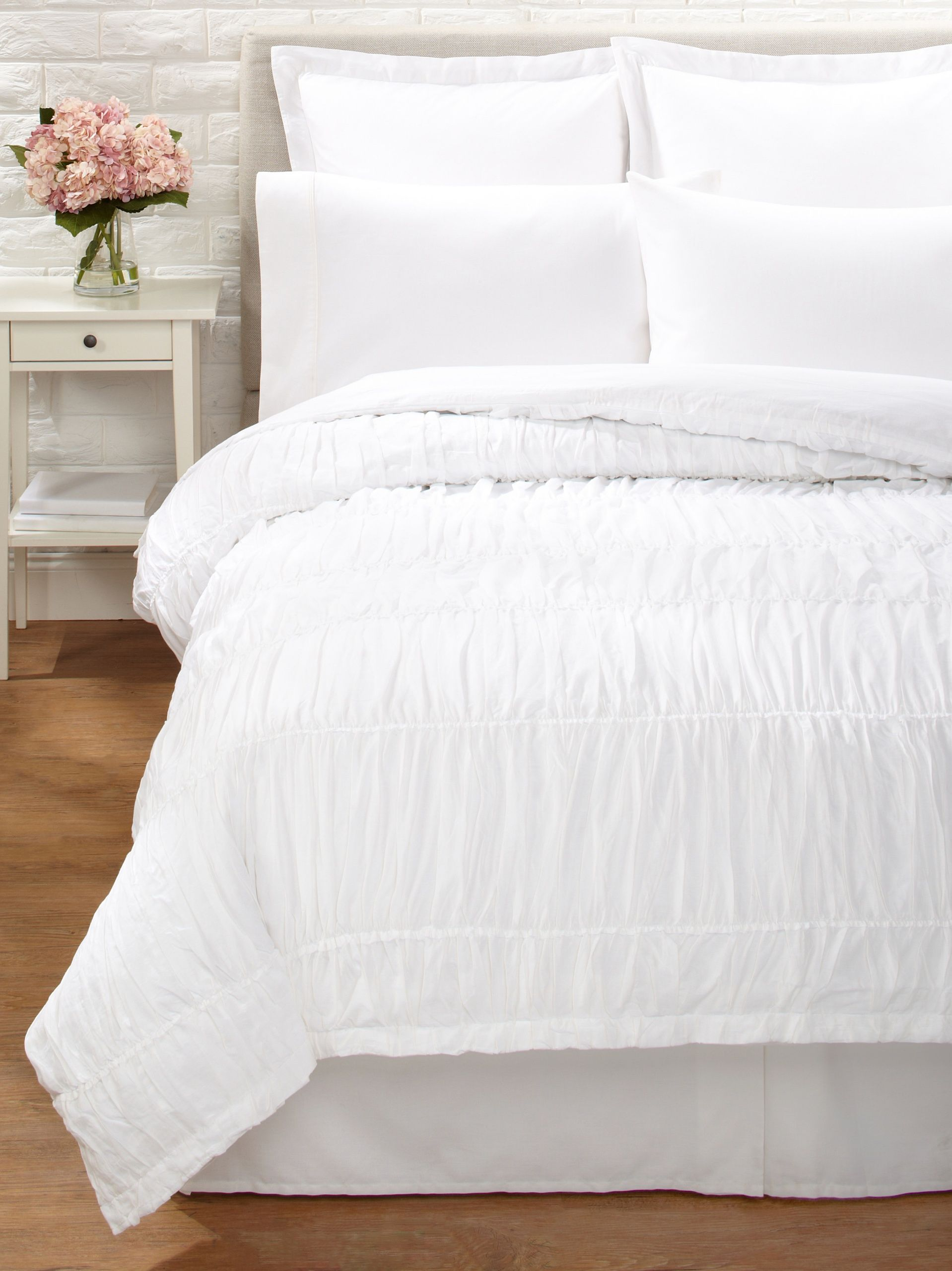 Amity Home Reann Duvet Cover (Charcoal) Lightweight Cotton Duvet Cover