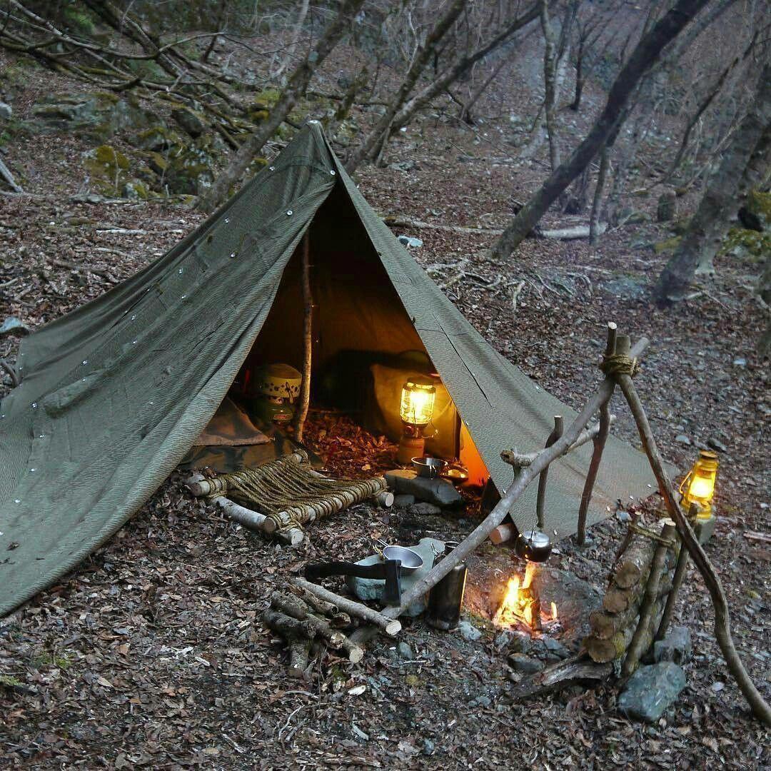 Camping Survival Skills: #bushcrafttent #survivalgear #ScienceFictionStories