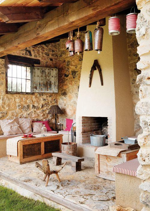 SEGOVIA spain  Fireplace