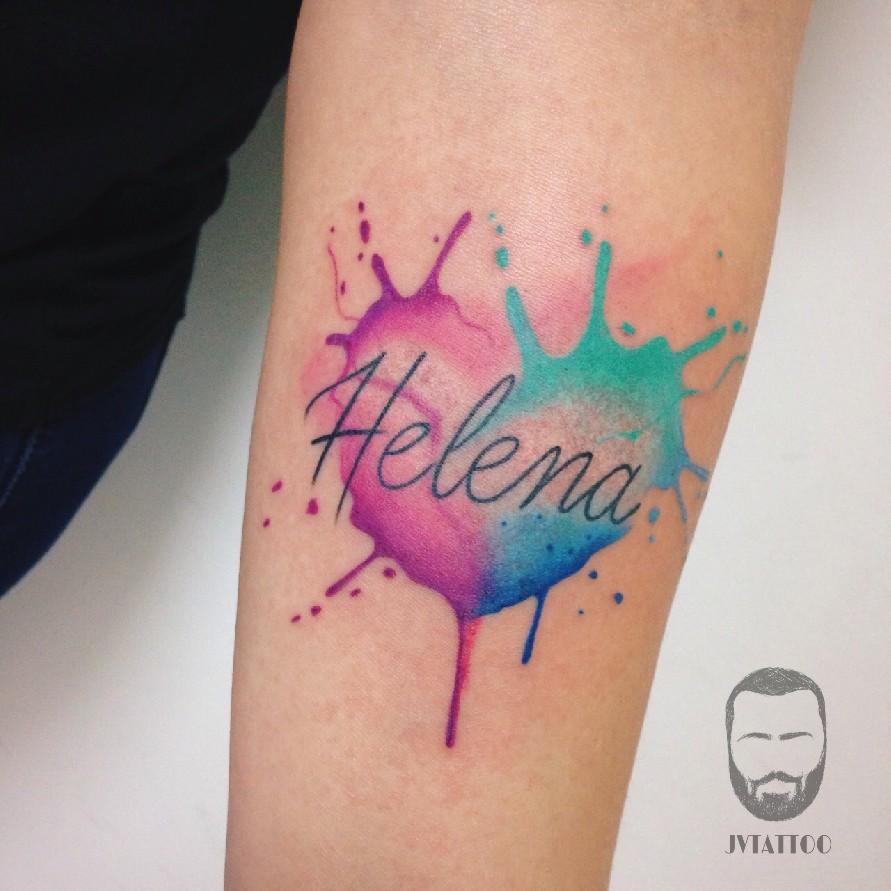 Color art tipografia - Tattoos And Body Art