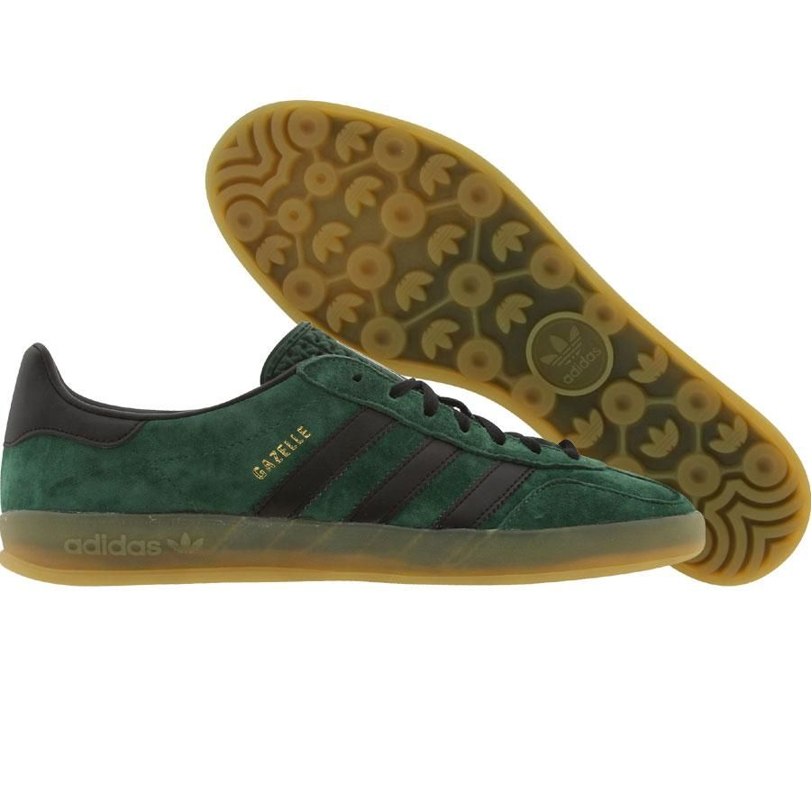 adidas gazelle indoor dark green