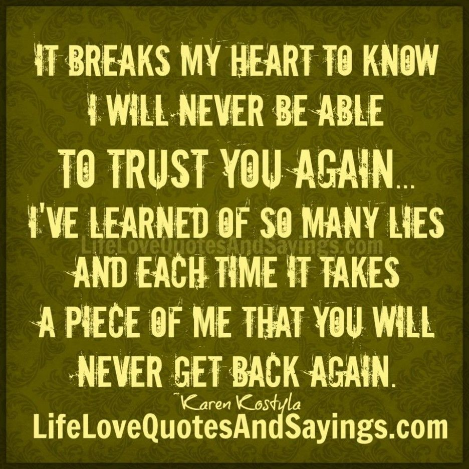 Trust Quotes Quotes About Trust