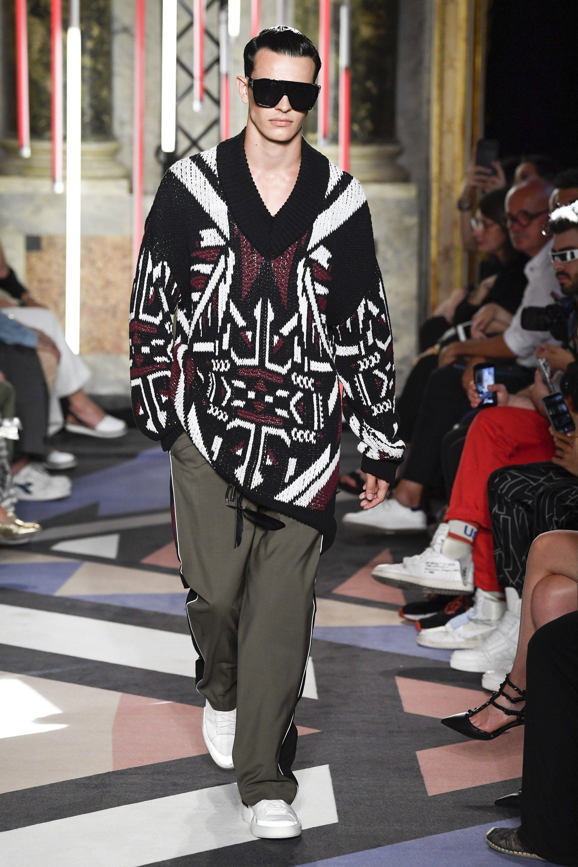 Les Hommes Spring 2019 Menswear Fashion Show Spring 2019 Menswear