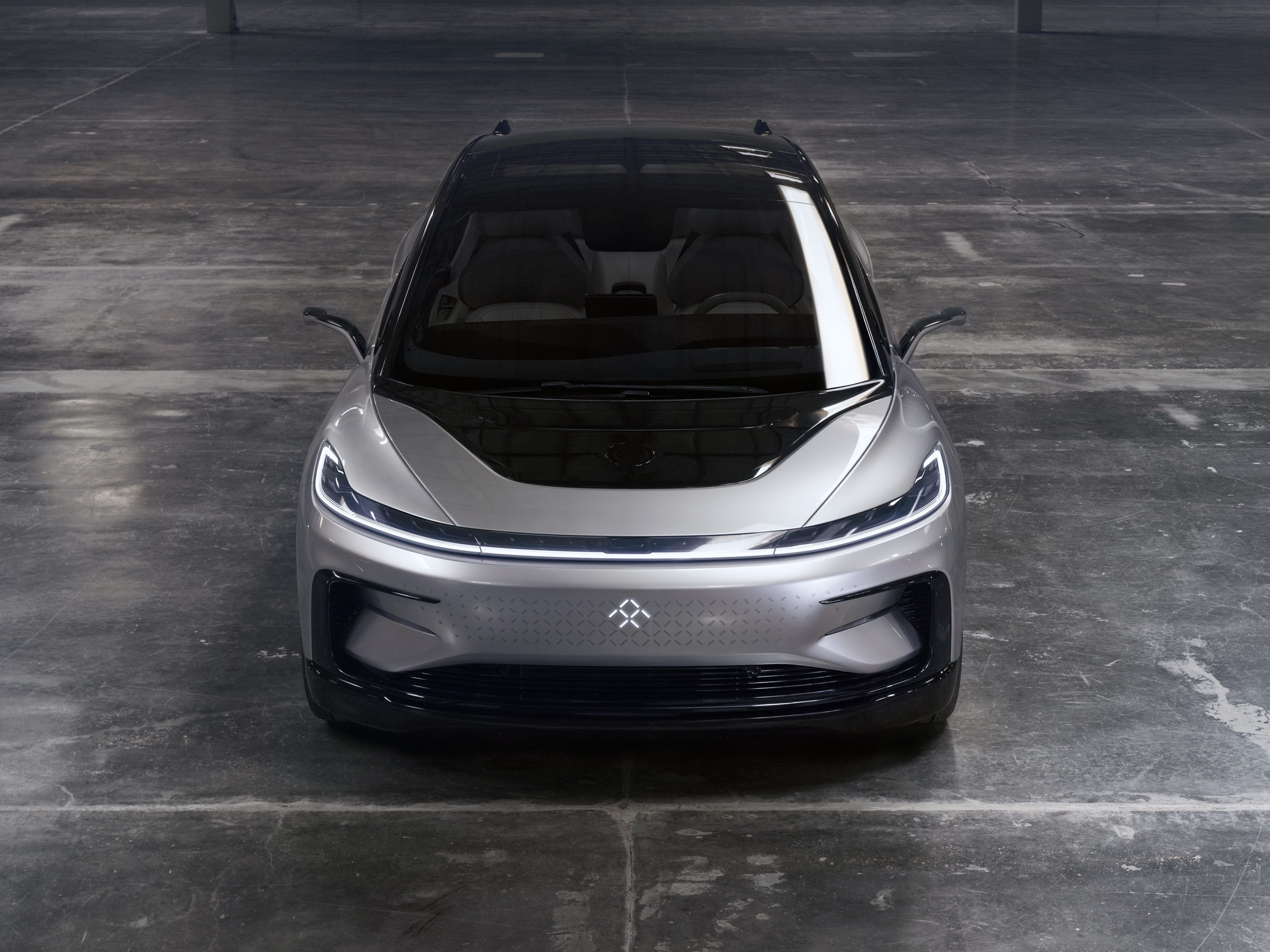 Get Up Close With Faraday Future S Bonkers Luxury Limousine Faraday Future Electric Car Concept Car