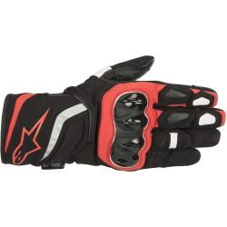 Photo of Alpinestars T-sp Ladies Motorcycle Textile Gloves Black Red L Alpinestars