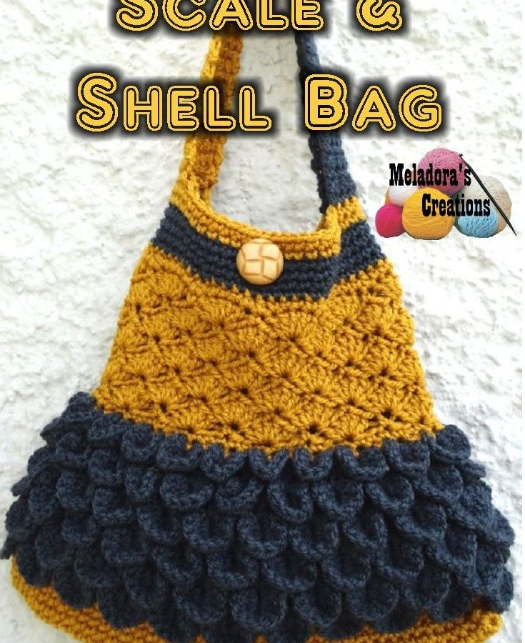 Scale and shell bag free crochet pattern crochet purse scale and shell bag free crochet pattern dt1010fo