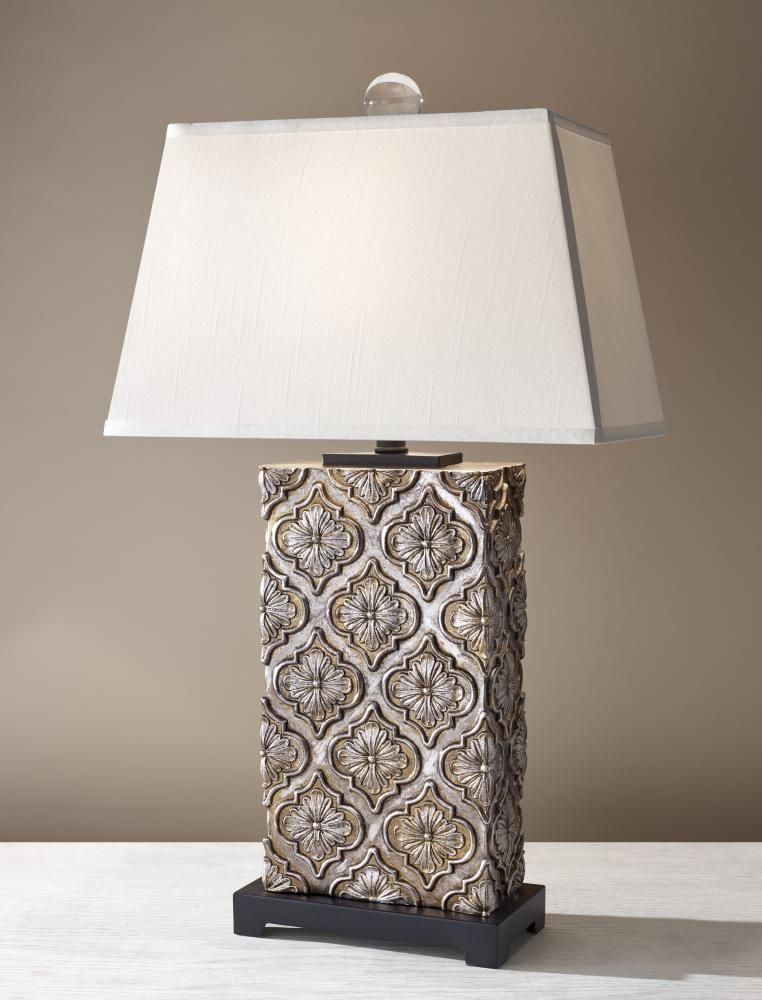 One light fawn beige shantung on hardback shade twilight table lamp sku mnu7 annapolis