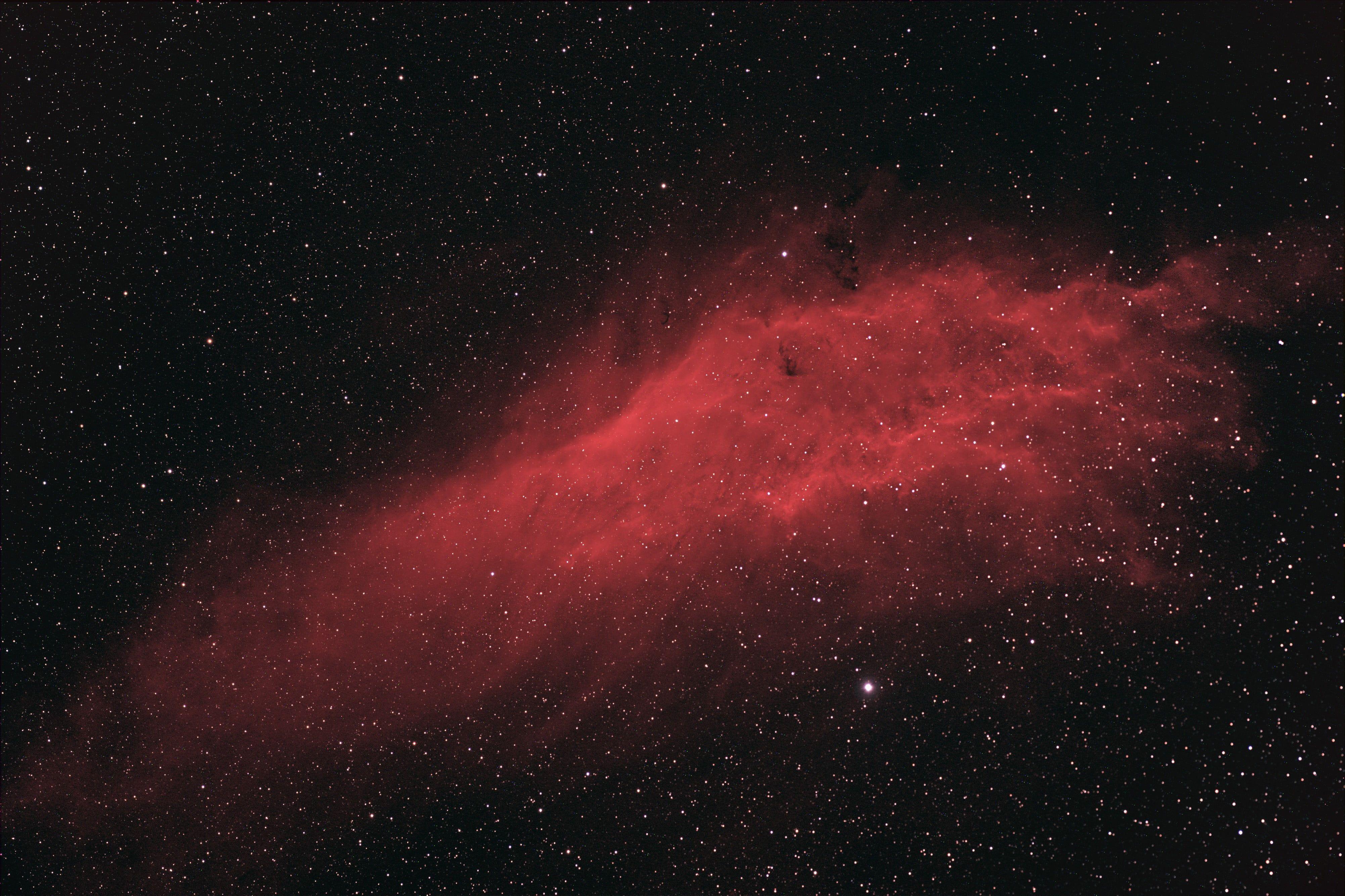 red nebula #space #galaxy #stars space art digital art #4K #wallpaper #hdwallpaper #desktop
