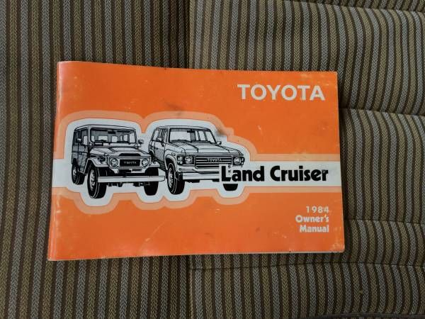1984 fj60 owners manual fj60 pinterest land cruiser rh pinterest co uk fj62 owners manual Toyota FJ62 Specs