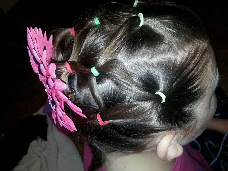 My friends daughters hair part 1 of 2