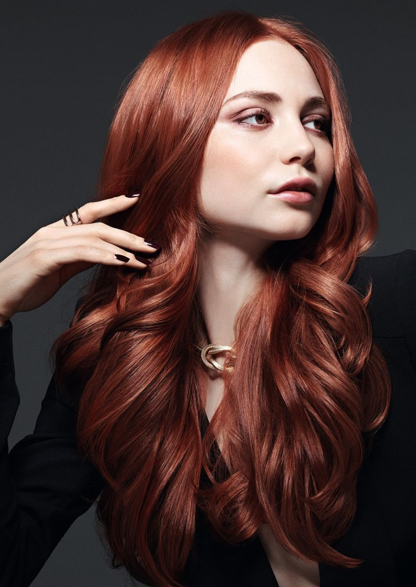 Rote haare natur farben