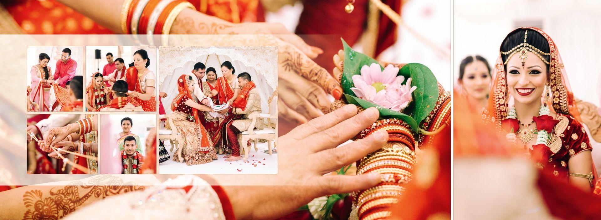 Hindu Wedding Album Design Gingerlime Design Indian