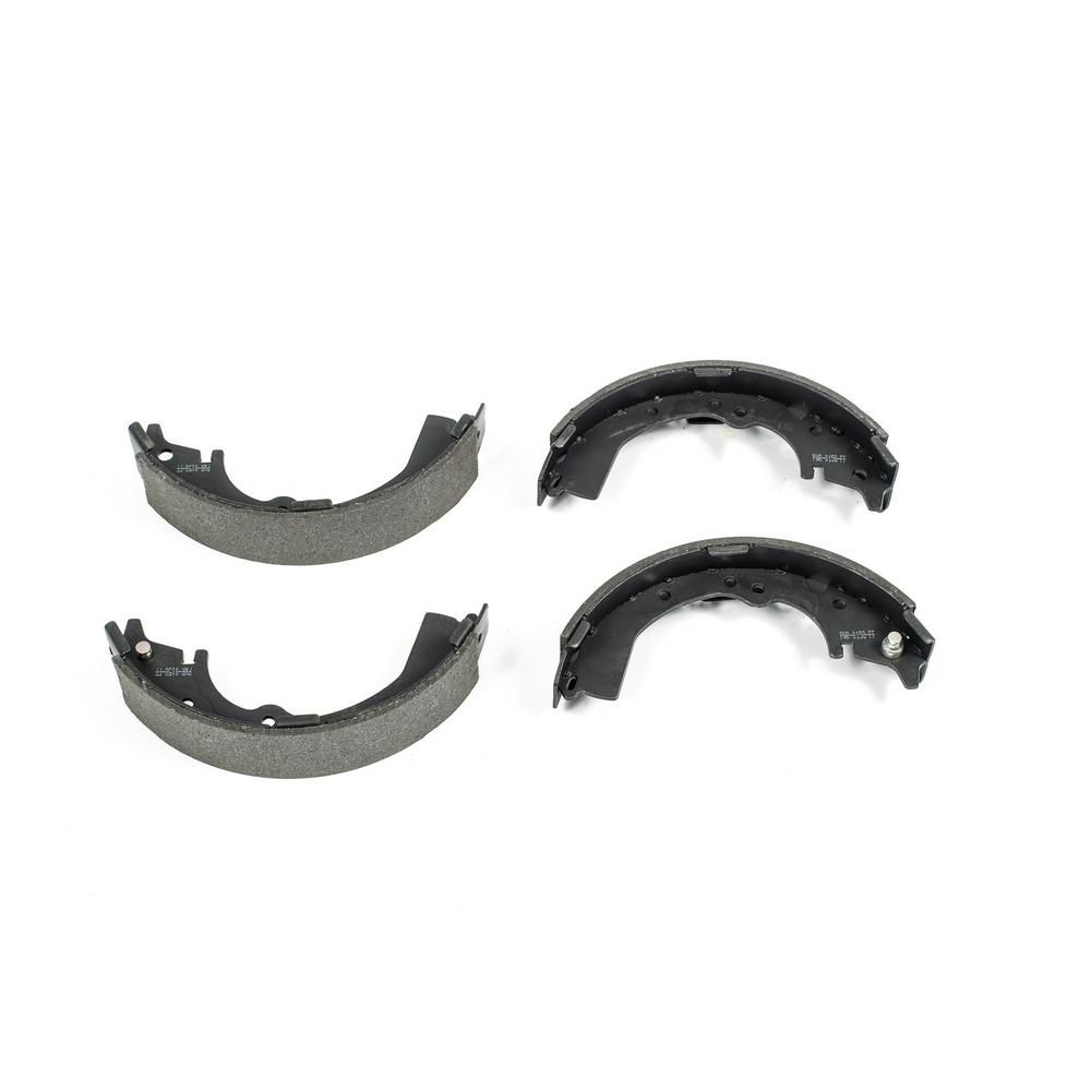 Rear Semi-Metallic Parking Brake Shoes For Ford Expedition Lincoln Navigator