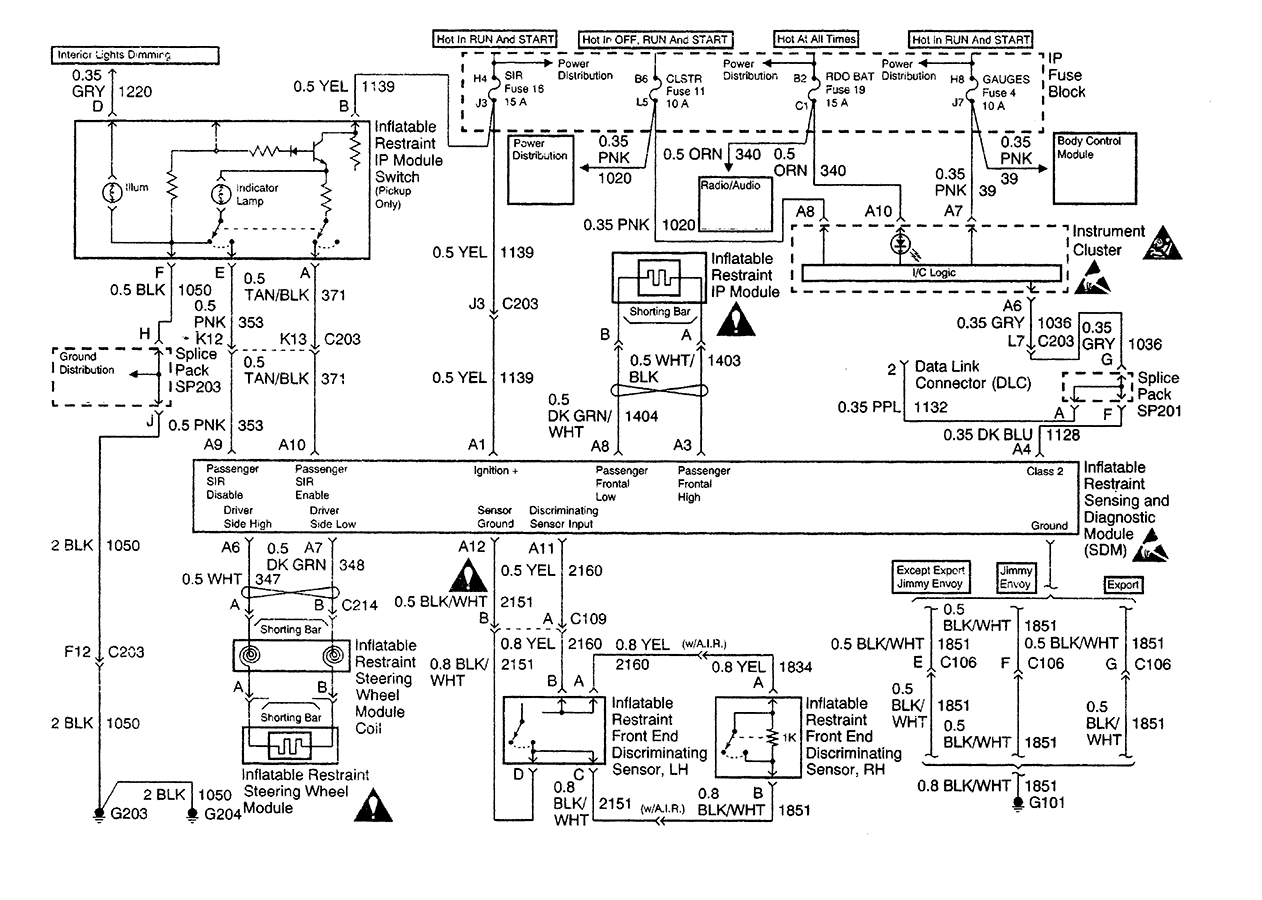 1995 S10 Blazer Ab Wiring Diagram Manual Guide