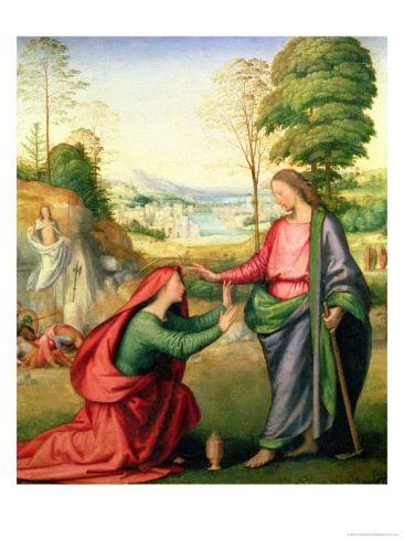 Noli Me Tangere, circa 1508