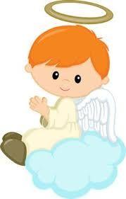 Resultado de imagem para batizado anjo