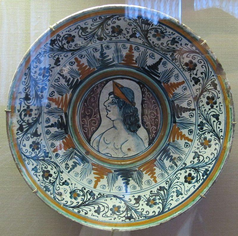 Toscana, piatto, XV sec. 02.JPG