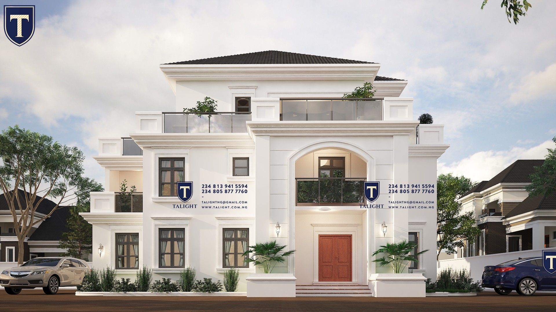 Six bedroom duplex in Abuja, Nigeria Contact us on your ...