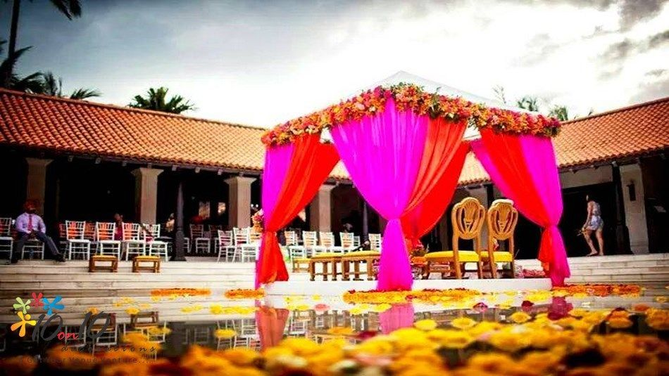 Vedi Decorators In Delhi By 10on10decorations Indian Destination Wedding Weddings
