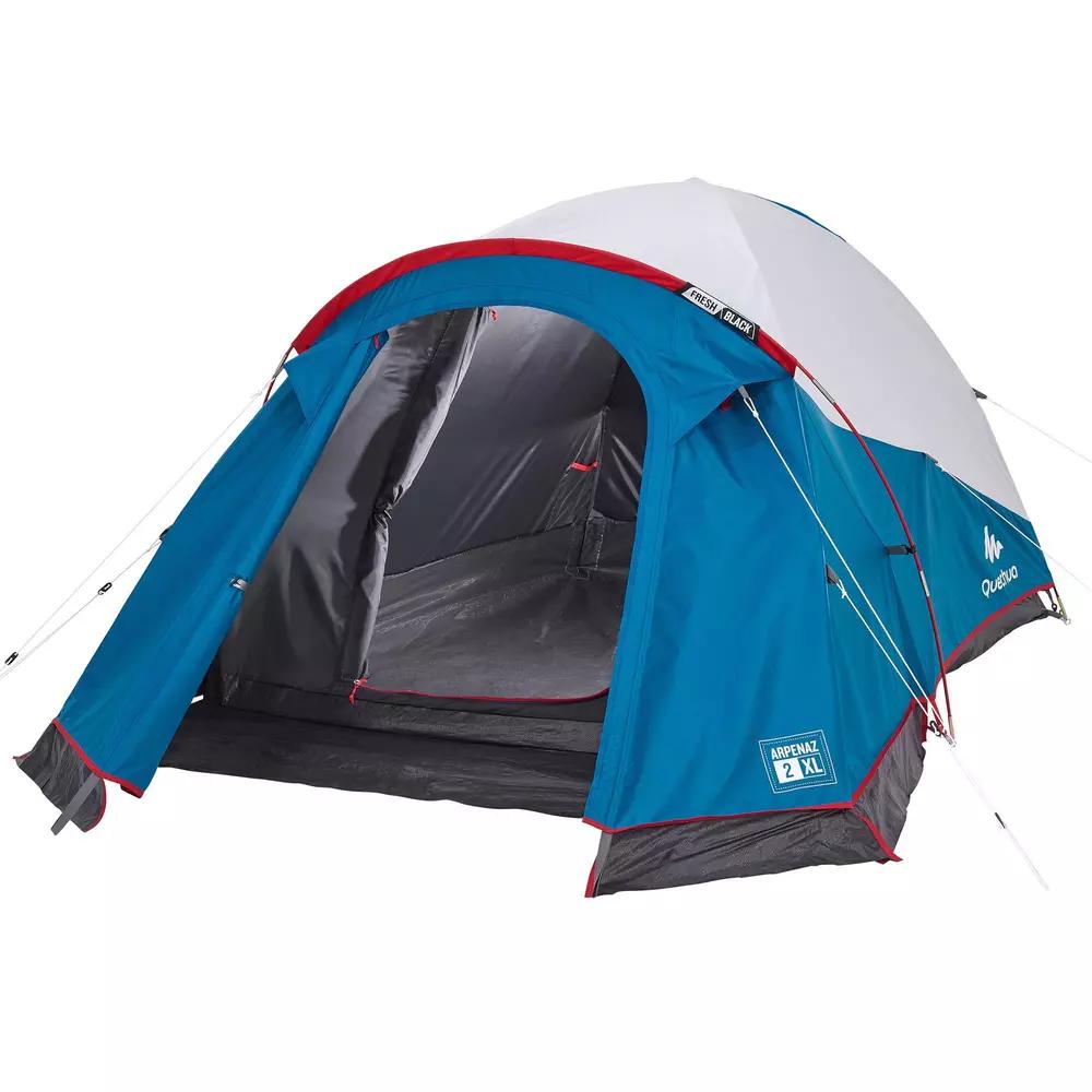 Quechua arpenaz family camping tente 4 Personne Extérieur Randonnée étanche abri