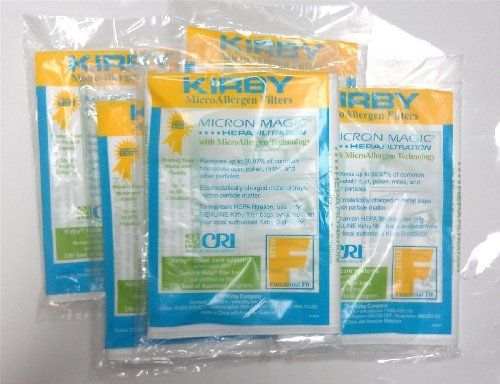 Kirby Micron Magic Hepa Bags That Fit The Sentria Vacuum This Is Type F Bag Listing For A 10 Pack Of