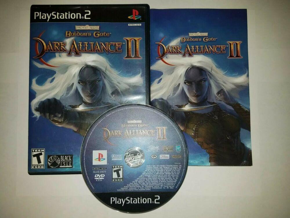 Baldur S Gate Dark Alliance Ii Sony Playstation 2 Ps2 2004