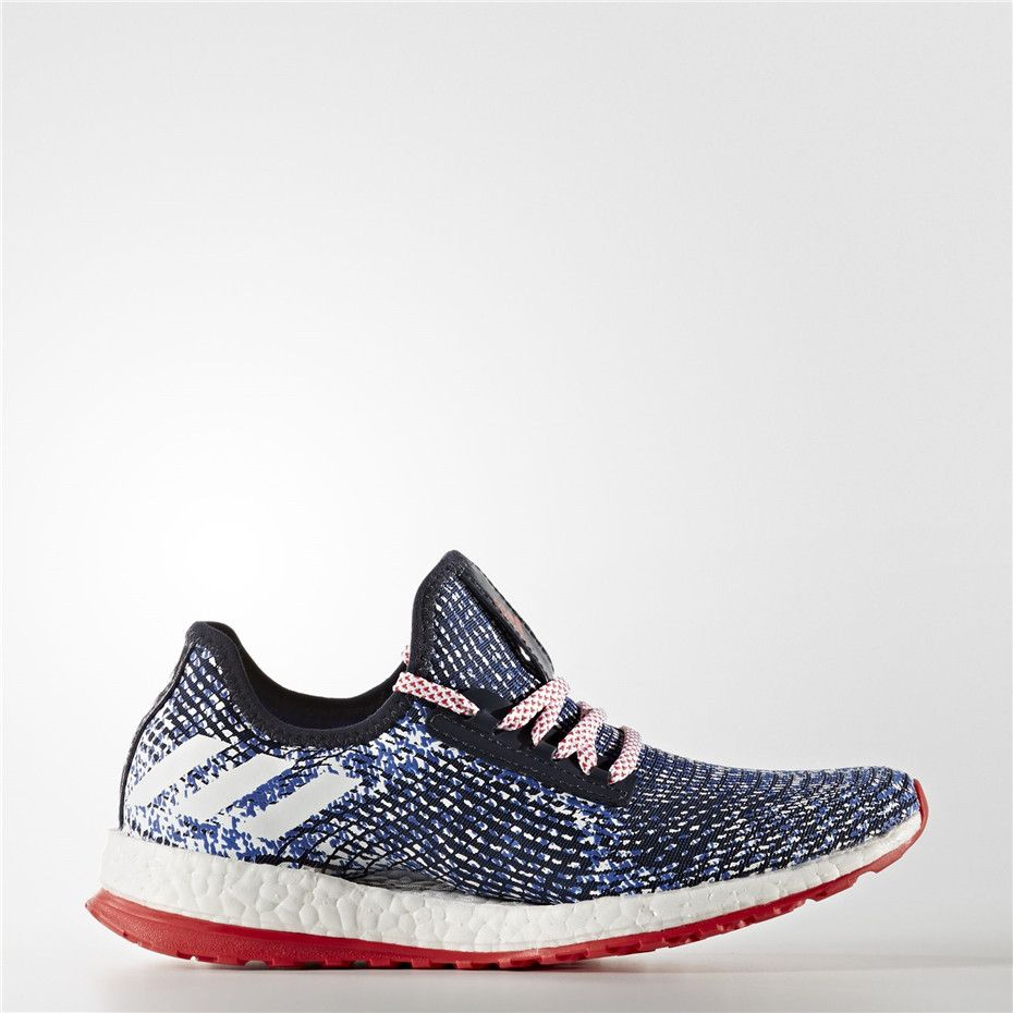 9159bc8f574f Adidas PureBOOST X ATR Shoes (Collegiate Navy   Running White Ftw   Vivid  Red)