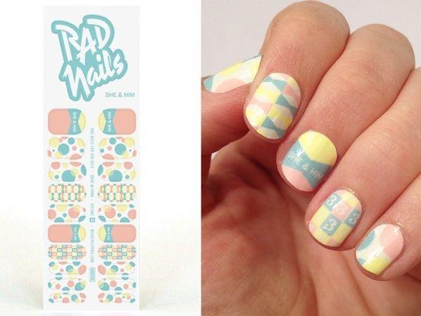Rad nails - nail decals