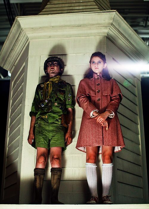 """""""Just in case this is a suicide or they capture us and we never see each other again anymore, I just want to say: Thank you for marrying me. I'm glad I got to know you, Suzy."""" - Moonrise Kingdom"""