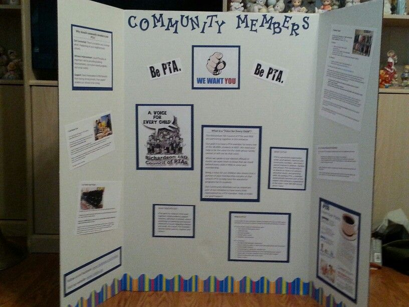 Community members we want you pta bulletin boards pta