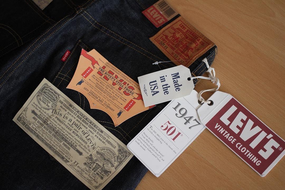 LVC 買ったけどまだ履いてない#levis #lvc #jeans #rawdenim #denim
