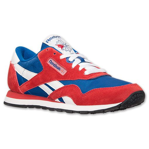 reebok classic nylon mens casual shoe