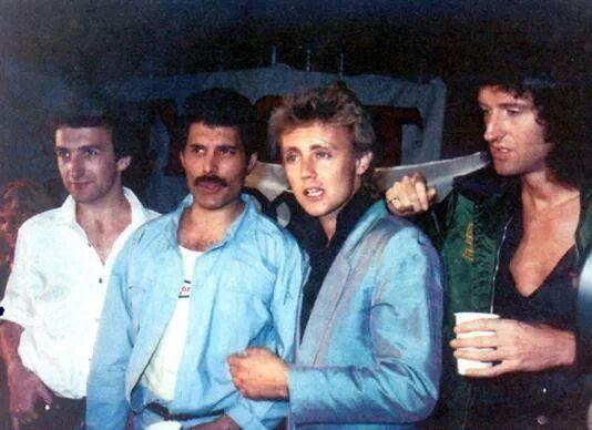 Queen in Argentina, 1981.