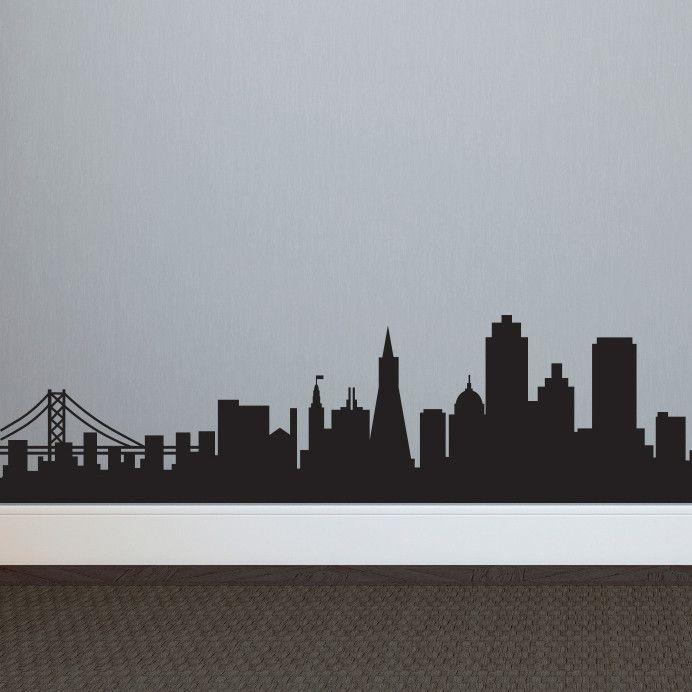 Milwaukee Skyline Silhouette Tattoo