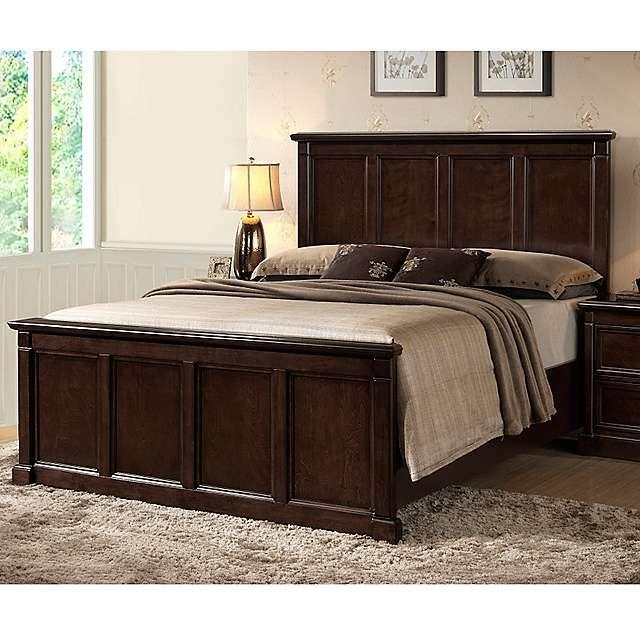 Harvard Espresso Queen Bed   Headboards for beds, Bedroom ...