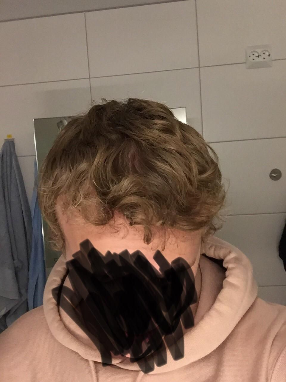 I have somewhat curly hair and have always styled it in a wave with